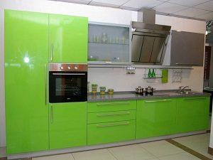 Кухни из пластика