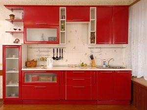 Прямые кухни